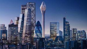 Bakal Dibuka Tahun 2025, Begini Calon Menara Tertinggi di London