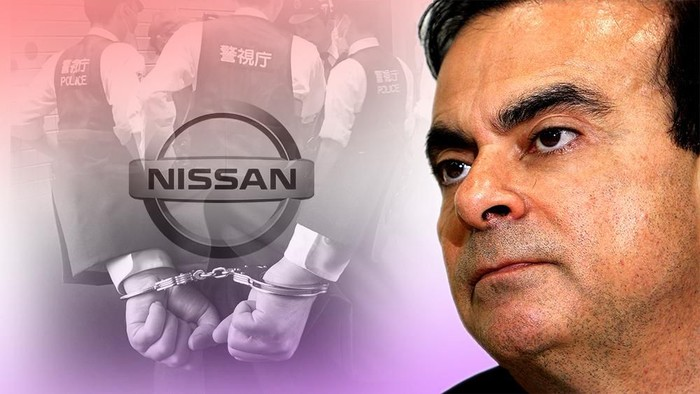 Fokus Bos Nissan Ditangkap