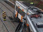 Kereta Tergelincir di Barcelona, 44 Orang Terluka