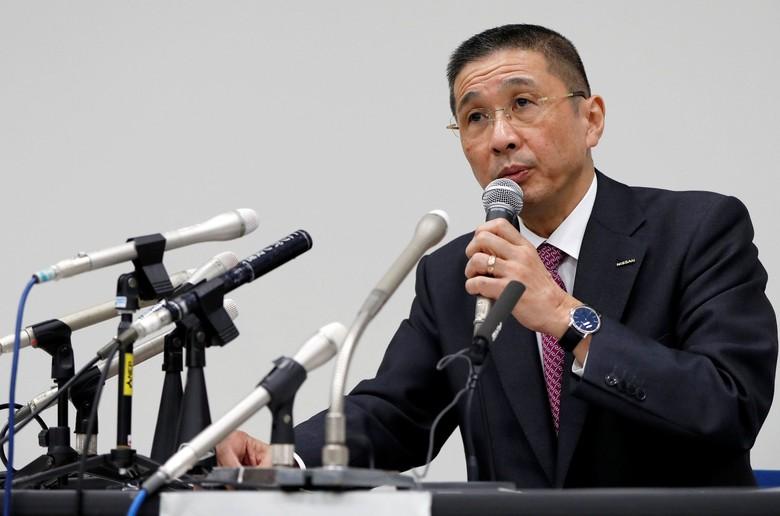 Bos Nissan Hiroto Saikawa. Foto: Reuters/Issei Kato