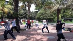 Perguruan Energi Alam Semesta ini fokus pada bela diri taichi dan kung fu. Olahraga ini baik untuk tua dan muda yang mengalami gangguan pinggang dan lutut.