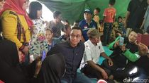 Pengungsi Rumah Ambles di Pademangan Keluhkan Tenda Panas ke Anies