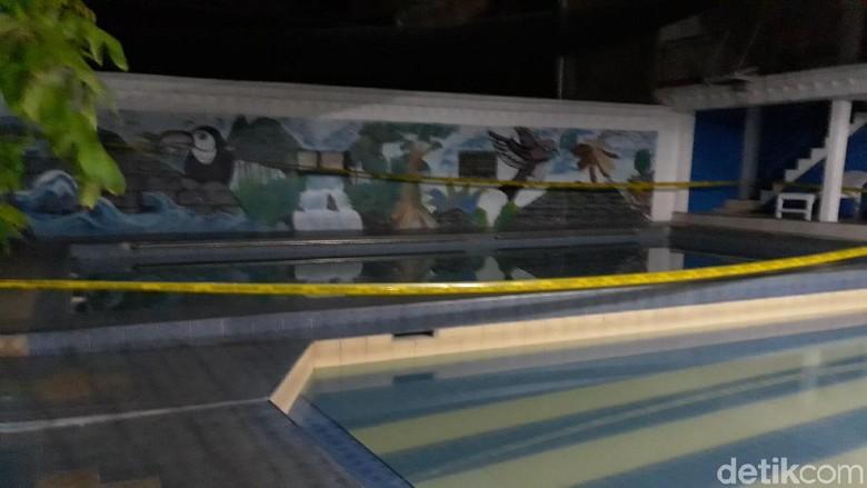 Ini Dia Kolam Renang Lokasi 2 Bocah Tewas Tenggelam di Yogya