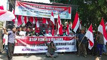Aksi Mimbar Bebas Menolak Politik Fitnah dan Isu Sara