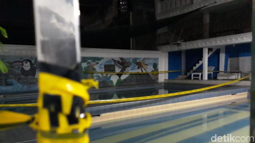 Kolam Renang TKP 2 Bocah Tewas Tenggelam di Yogya Digaris Polisi