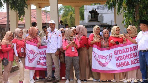 Cawapres Sandiaga Uno berkunjung ke Banda Aceh, Selasa (20/11/2018)