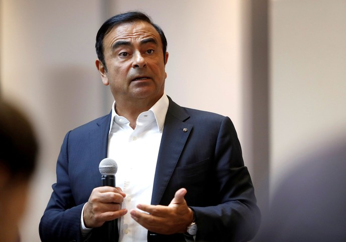Bos Nissan Carlos Ghosn Ditangkap