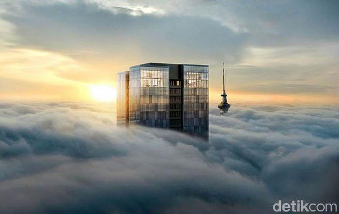 Terdapat super penthouse yang berlokasi di New Zealand dan dibanderol dengan harga US $ 35 juta. Istimewa/Luxatic.