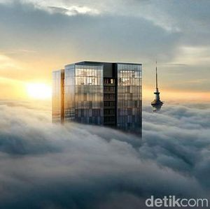 Mengintip Penthouse Tembus Awan di New Zealand