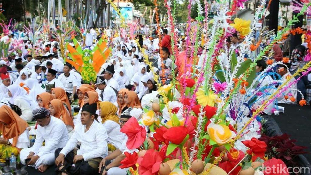 Kemeriahan Festival Endhog-Endhogan di Banyuwangi