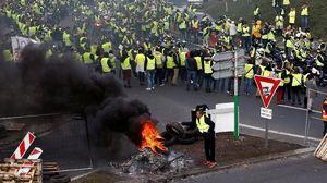 Demo Besar-besaran Tolak Harga BBM Naik Guncang Prancis