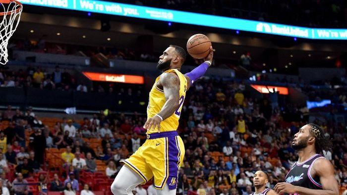 LeBron James mulai on fire bersama LA Lakers (Steve Mitchell-USA TODAY Sports)