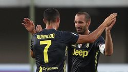 Chiellini: Ronaldo Bisa Main Sampai Umur 40 Tahun
