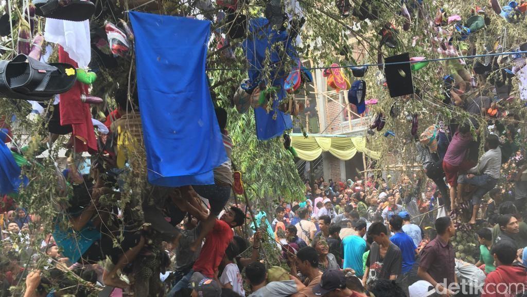 Ini Keseruan Tradisi Keresan Peringati Maulid Nabi di Mojokerto