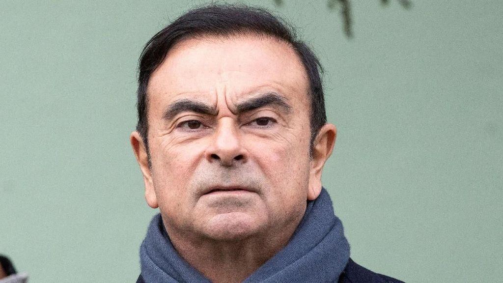 Bos Nissan yang Ditangkap Jepang Muncul ke Publik Selasa Depan
