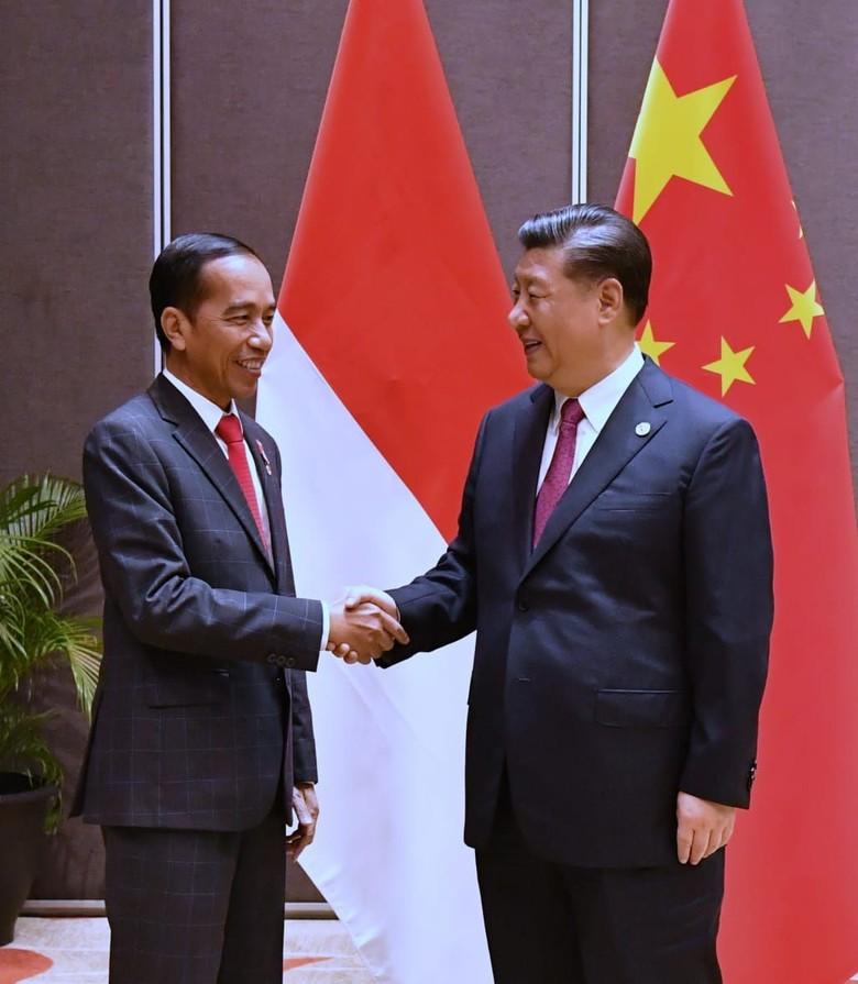 Presiden China Beri Selamat ke Jokowi yang Menang Pilpres