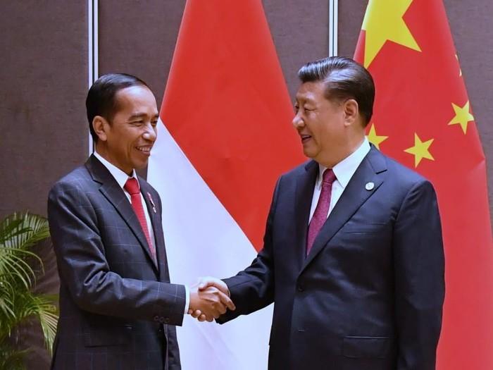 Jokowi - Xi Jinping KTT APEC