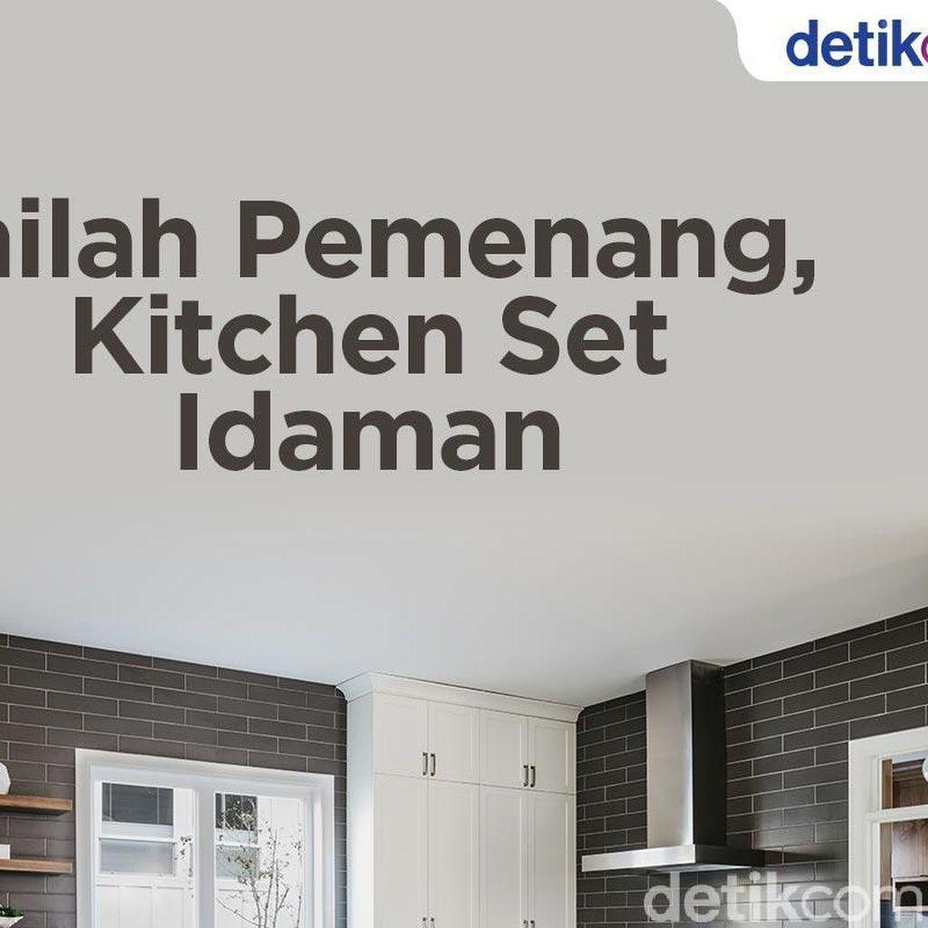 Andakah Pemenang Kitchen Set Idaman ?