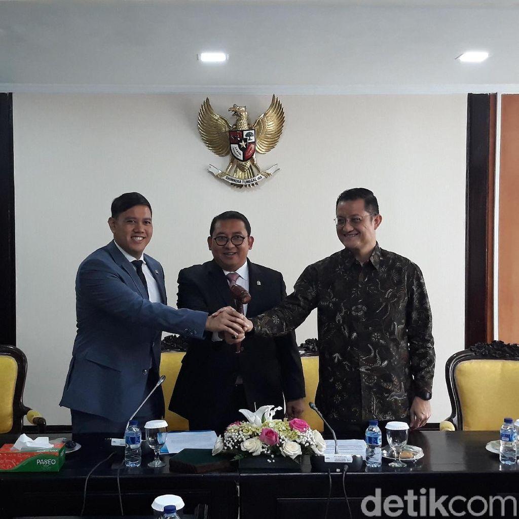 DPR Lantik Wakil Ketua BKSAP Pengganti Fadel Muhammad