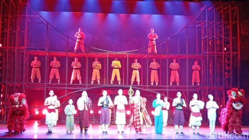 Foto: Pertunjukkan Kung Fu Kelas Dunia di Beijing