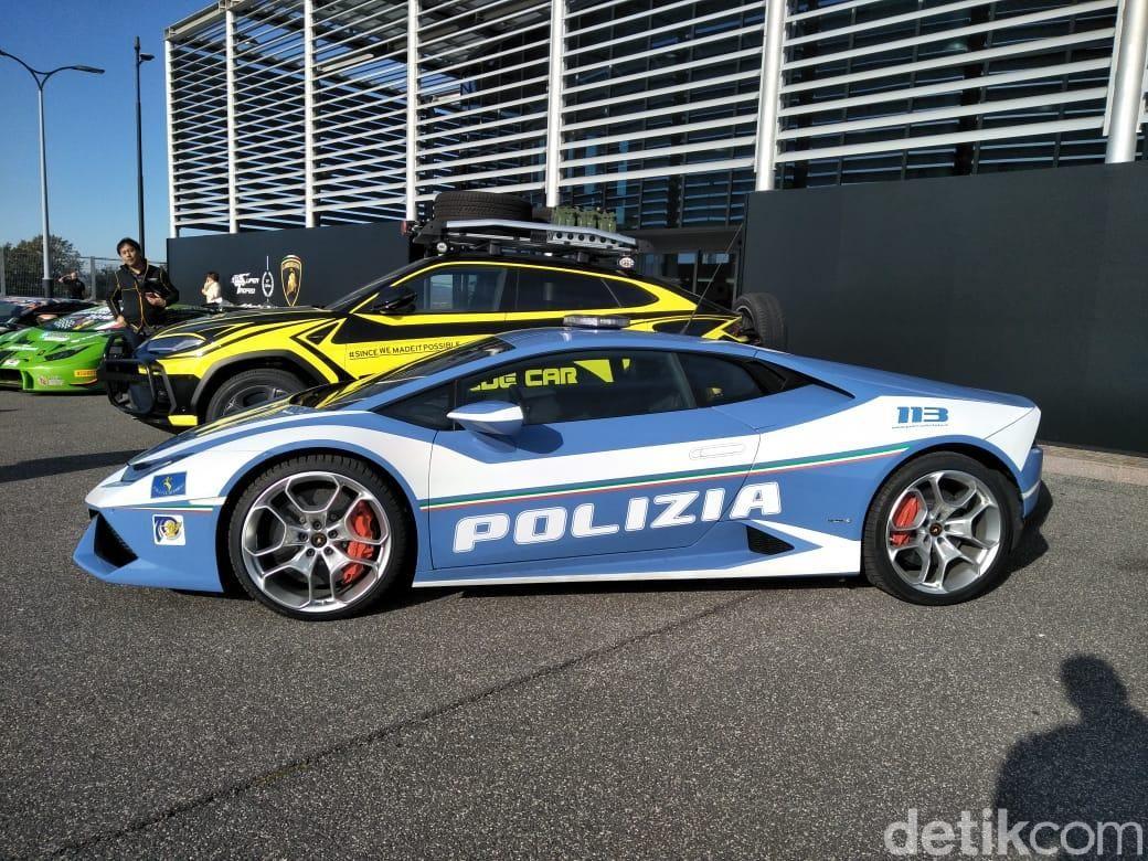 Lamborghini Gallardo Jadi Mobil Polisi di Roma, Italia