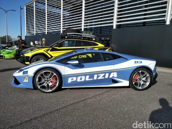 Banteng Lamborghini untuk Kejar Penjahat
