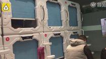 Rumah Sakit China Siapkan Hotel Kapsul untuk Keluarga Pasien ICU