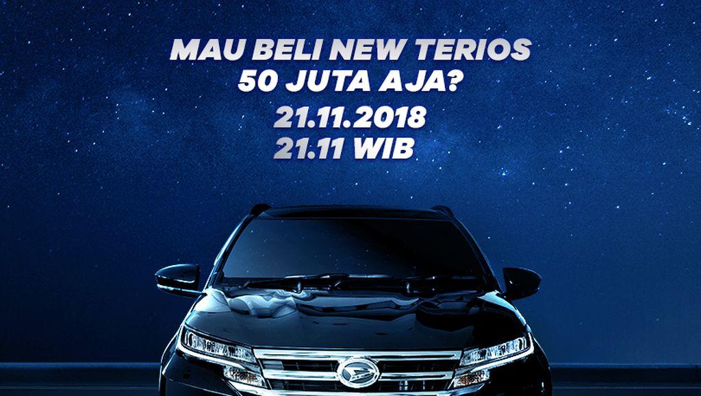 Cuma Malam Ini Lho! Daihatsu New Terios Dijual Rp 50 Juta