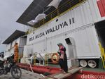 Cerita RS Apung Bantu Rawat Korban Gempa Palu