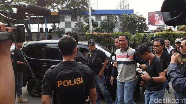 Hercules dibawa ke Polres Jakbar, Rabu (21/11/2018