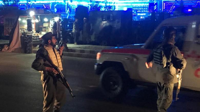 50 Orang Tewas Akibat Bom Bunuh Diri di Afghanistan