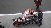 Cedera Bahu Menghambat Marquez di Tes MotoGP Valencia