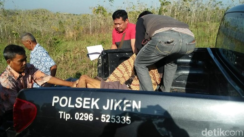 Mbah Parijah Ditemukan Tak Bernyawa di Tengah Hutan Blora
