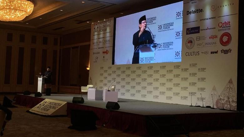 Di Indonesia Economic Forum, Prabowo Pidato Pakai Bahasa Inggris
