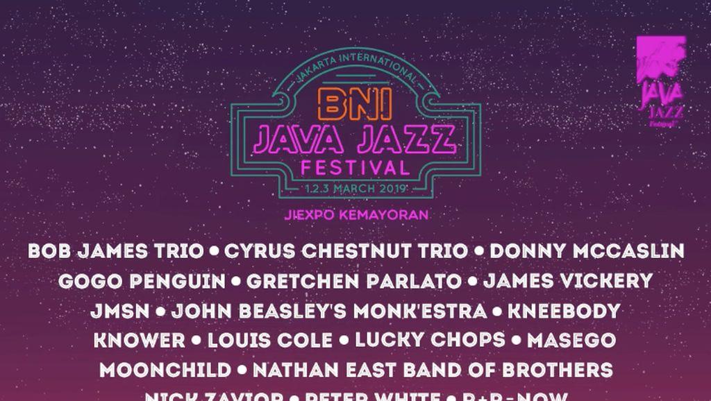 Java Jazz Festival Mengalun Lagi Maret 2019, Ini Line Up-nya