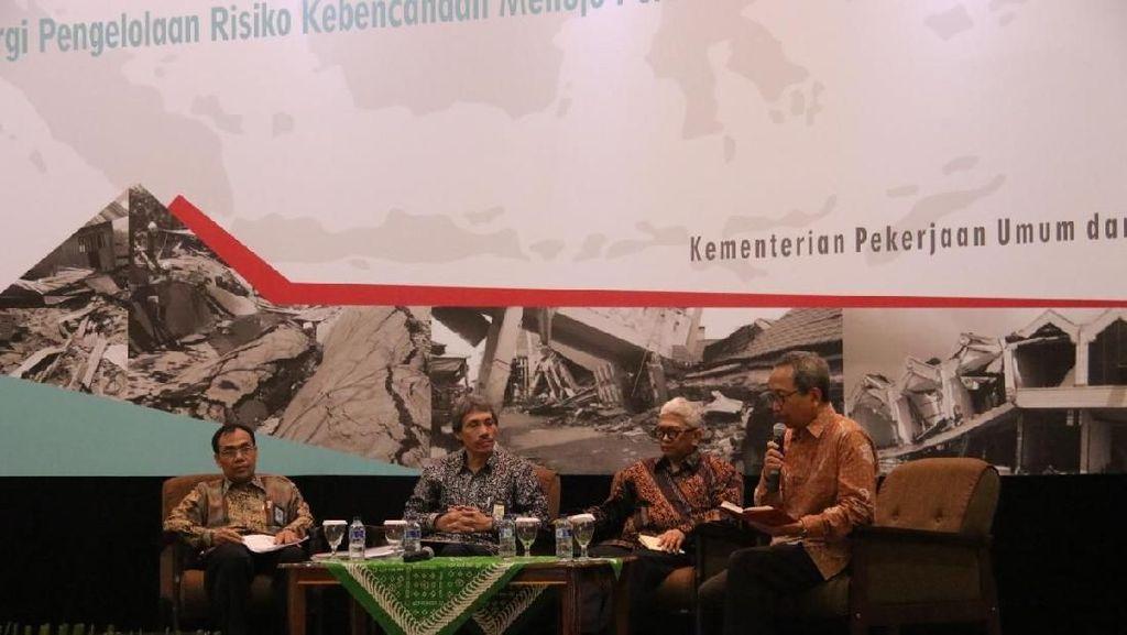 Jurus Pemerintah Tekan Risiko Bangunan Hancur Akibat Bencana Alam