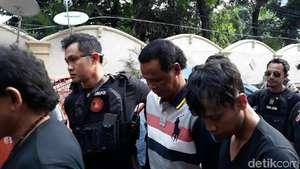 Hercules Ditangkap Polisi