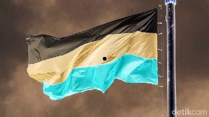 Kira-kira ini bendera negara apa? (Foto: detikHealth)