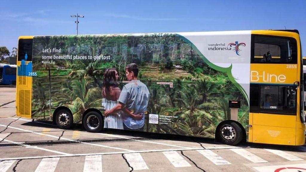 Kemenpar Perluas Wonderful Indonesia dengan Branding Bus Australia