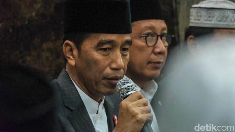 Jokowi Peringati Maulid Nabi di Istana Bogor