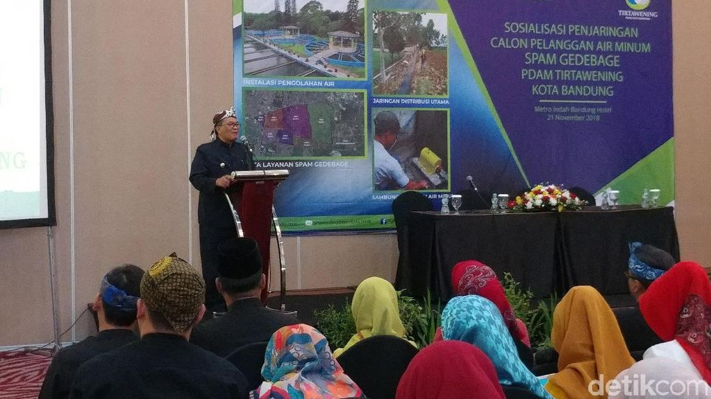 70 Ribu Rumah di Bandung Timur Segera Tersambung Air PDAM