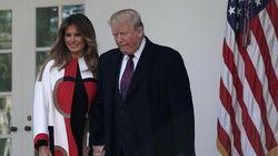 Melania Trump Tetap Pakai Dolce & Gabbana di Tengah Kontroversi Rasial