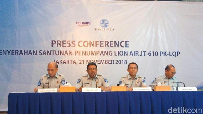 100 Ahli Waris Korban Lion Air JT 610 Dapat Santunan Rp 50 Juta