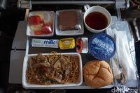 Makanan yang disuguhkan untuk traveler (Melissa Mailoa/detikTravel)