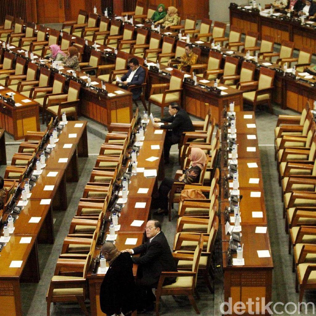 Duh! 310 Bangku Kosong di Pembukaan Masa Sidang DPR