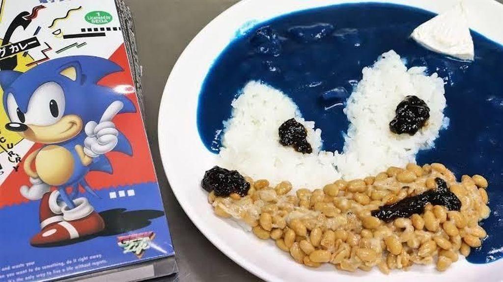 Unik! Ini Kari Biru yang Terinspirasi Tokoh Sonic The Hedgehog