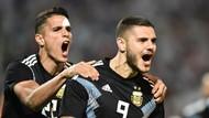 Hasil Laga Uji Coba: Argentina Kalahkan Meksiko, Icardi Cetak Gol Perdana