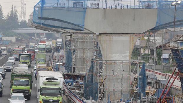 Proyek Tol Japek Elevated II Berlanjut, Dikerjakan Malam Hari