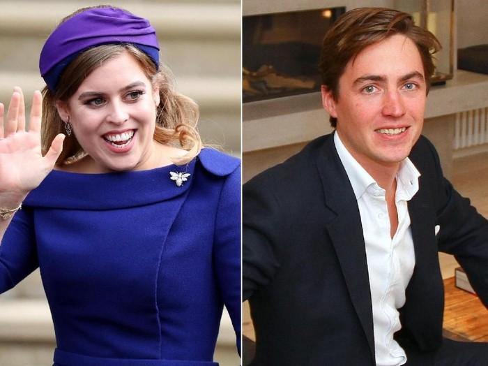 Kekasih baru Putri Beatrice, Edoardo Mapelli Mozzi. Foto: dok. Twitter