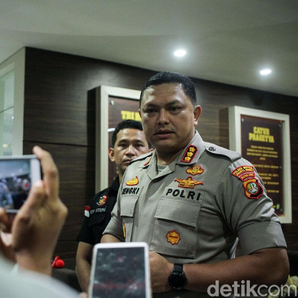 Kapolres Jakbar Imbau Warga Jaga Perdamaian Jelang Pemilu